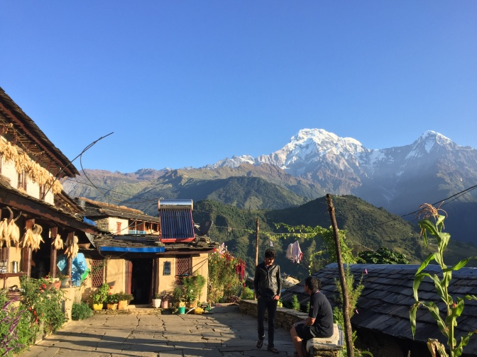 Ghandruk tea house